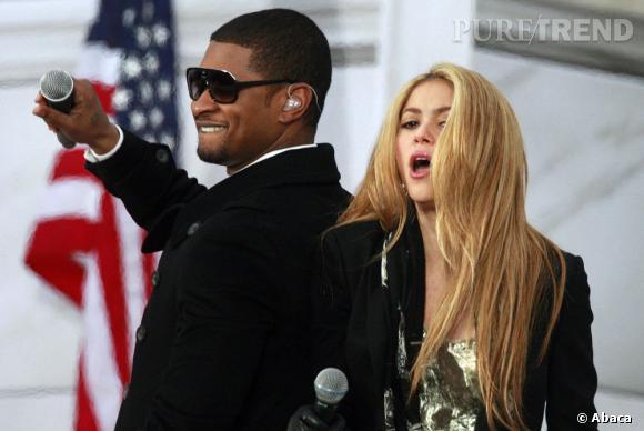 """Un nouveau duo de choc pour """"The Voice"""" ! Shakira et Usher remplaceront Cee Lo Green et Christina Aguilera dans la saison 4."""