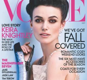 Keira Knightley se confesse dans Vogue USA : ''Non, je ne veux pas être mère au foyer !''