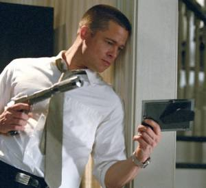 "Brad Pitt dans ""Mr. & Mrs. Smith""."