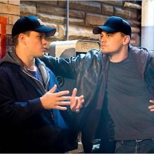 """Matt Damon et Leonardo DiCaprio dans """"Les infiltrés""""."""