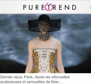Puretrend lance son application iPhone