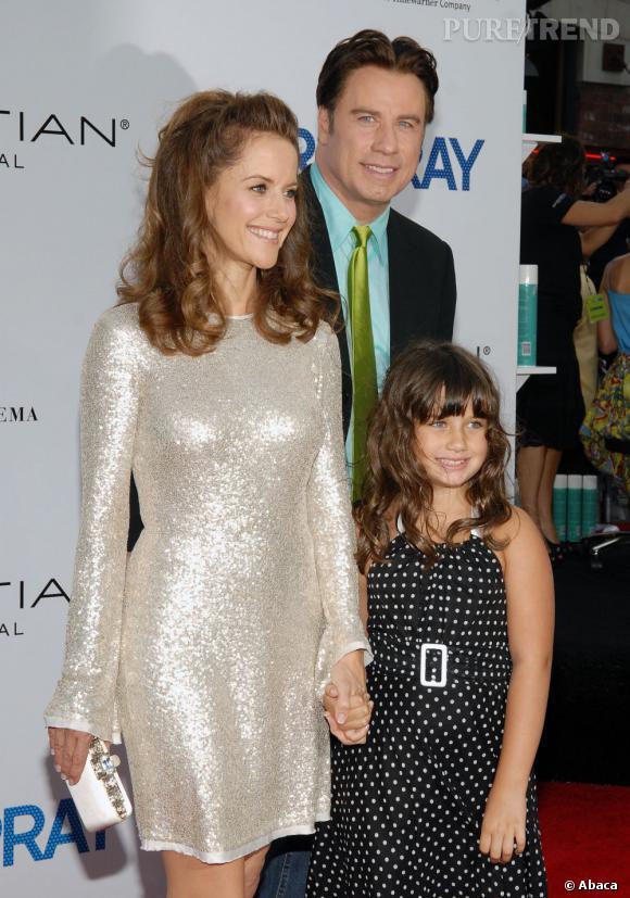 John Travolta peut se targuer d'avoir une jolie fille... Qui lui ressemble beaucoup !