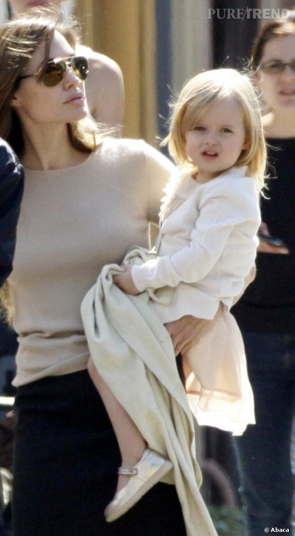 Vivienne, le parfait mélange d'Angelina Jolie et Brad Pitt. La classe.
