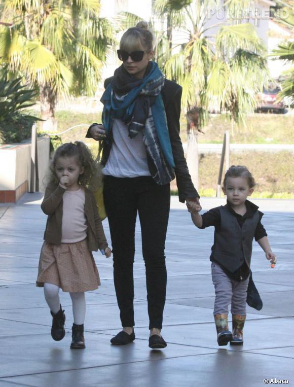 Nicole Richie et sa fille Harlow, identiques.