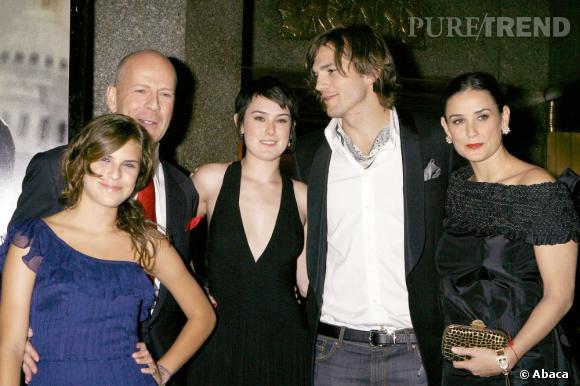 Rumer Willis ressemble à ses deux parents : Demi Moore et Bruce Willis.