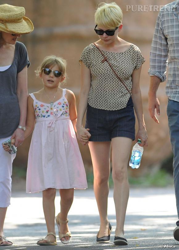 Michelle Williams et sa fille Mathilda, il y a un air de famille !