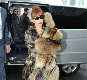 Lady Gaga : après ses tenues délurées, elle quitte Paris en pyjama