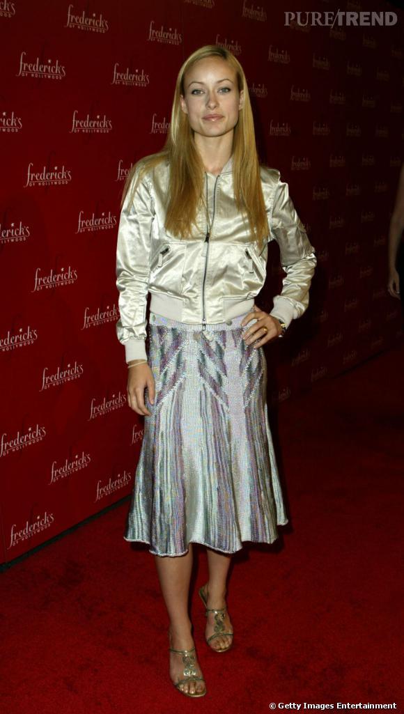 Le flop red carpet : trop brillant, mauvaise coupe, mauvais choix de chaussures, teint gris... Rien ne va pour cette apparition d'Olivia Wilde.