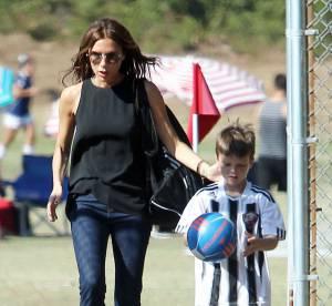Victoria Beckham : maman au look impeccable et au service de ses fils