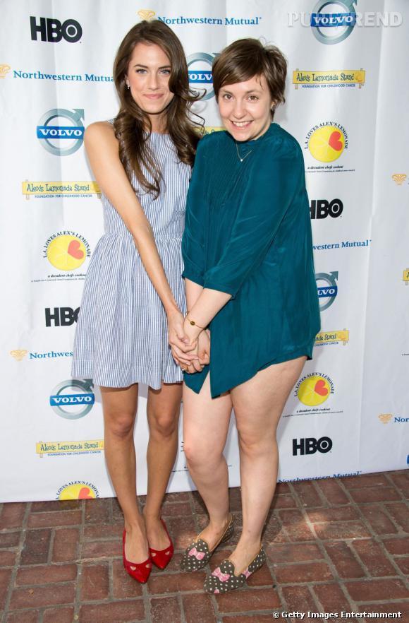 Lena Dunham aurait-elle oublié son pantalon ?