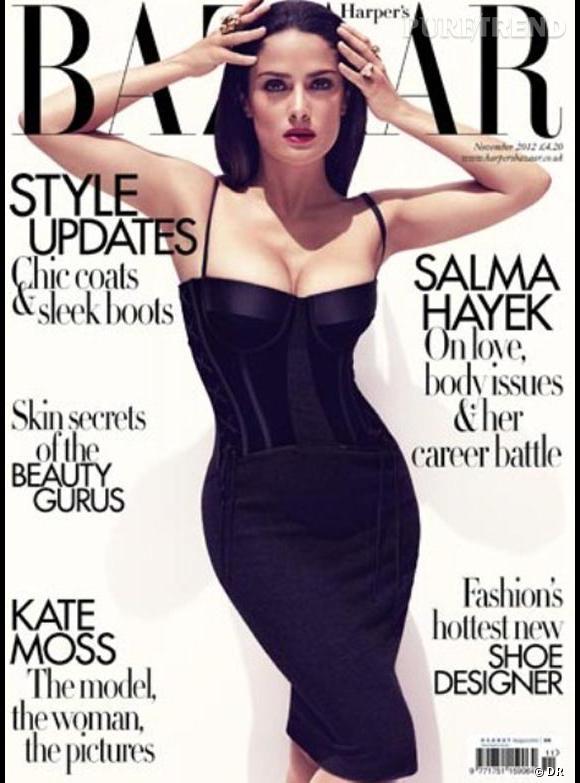 Salma Hayek pour Harper's Bazaar.