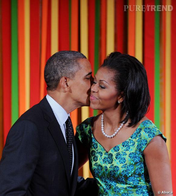 Le couple Michelle et Barack Obama est emblématique aux États-Unis. Pour leurs 20 ans de mariage, ils ont dû reporter leur dîner romantique : c'était la date du débat Obama - Romney.