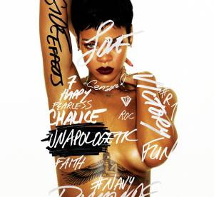 Rihanna, encore nue pour son album Unapologetic