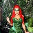 L'année dernière, elle avait opté pour le costume de Poison Ivy.