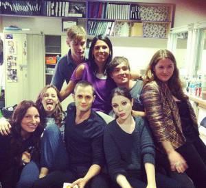"""Le casting de """"Gossip Girl"""" fête la fin de la série."""