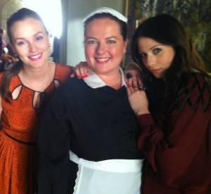 Dorota entourée de Blair et Georgina.