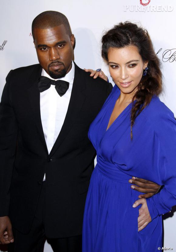 Cela faisait longtemps qu'on n'avait pas vu Kim Kardashian et Kanye West, ensemble sur un tapis rouge.