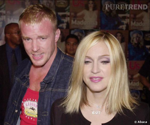 """Selon les rumeurs, la chanson """"Miles Away"""" de Madonna a été écrite quelques mois avant sa séparation avec Guy Ritchie."""
