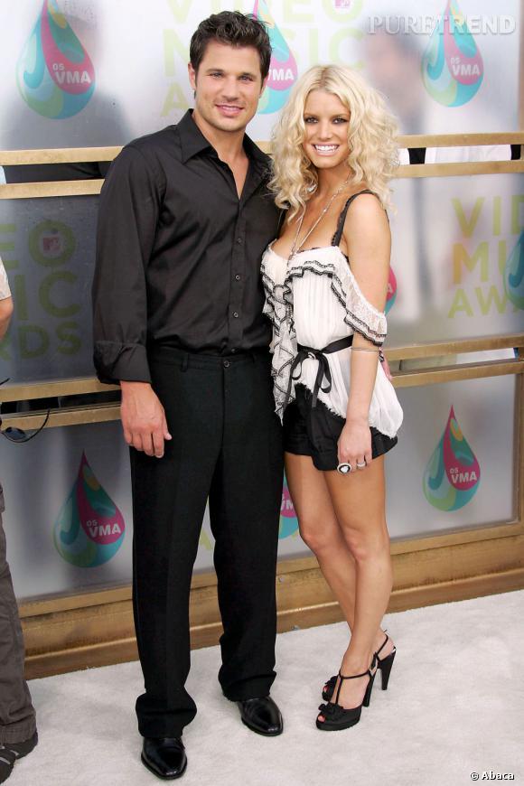 """C'est avec la chanson """"What's Left of Me"""" que le chanteur Nick Lachey se venge de son ex-femme Jessica Simpson."""