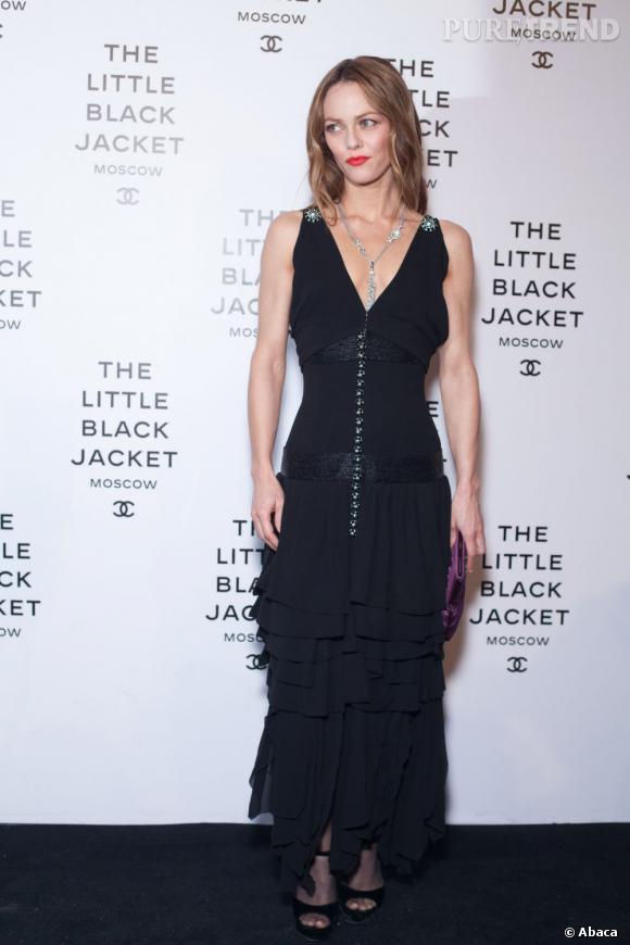 Vanessa Paradis, une frenchy mode.