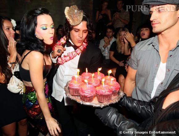 Katy Perry fête aujourd'hui ses 28 ans.