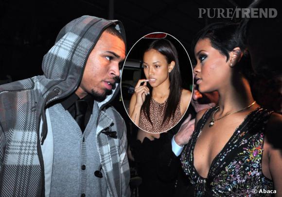 Rihanna se retrouve-t-elle au milieu d'un triangle amoureux ?