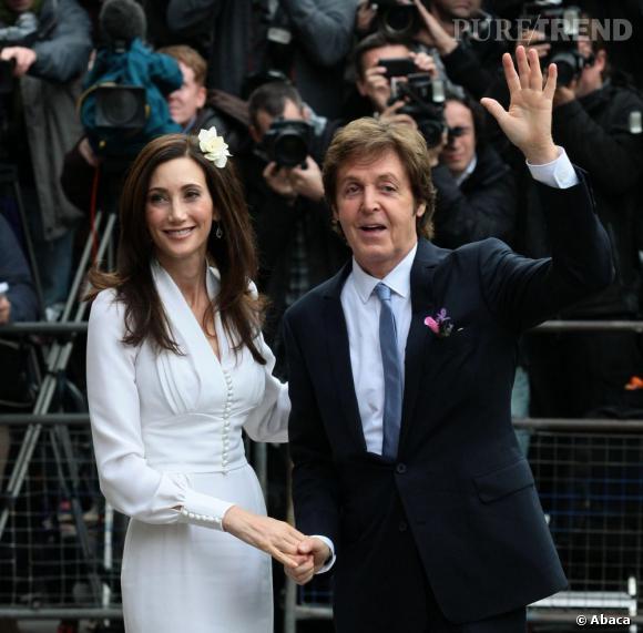 A 69 ans, Paul McCartney se marie avec Nancy Shevell, sa troisième femme.