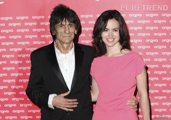A 65 ans, Ronnie Wood vient de se fiancer avec Sally Humphreys de 31 ans sa cadette.