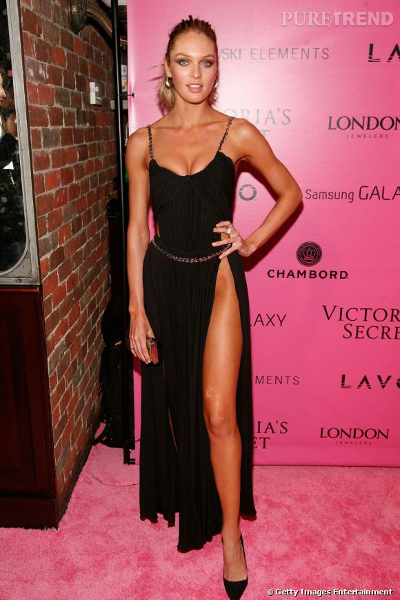 Sur red carpet :  Candice Swanepoel fait tourner les têtes.