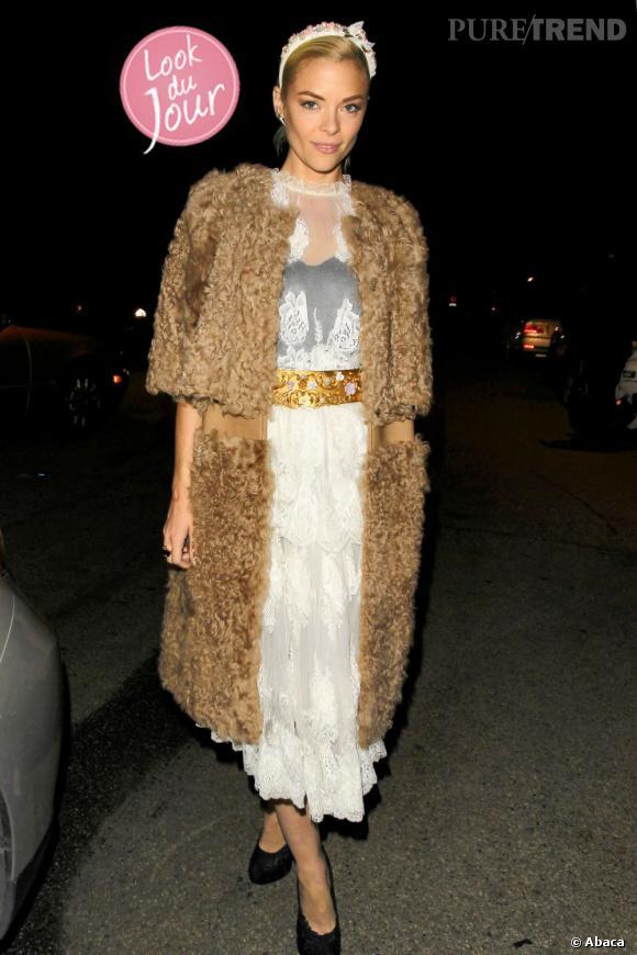 """Jaime King fait sensation à Beverly Hills lors d'une soirée """"Sin City""""."""