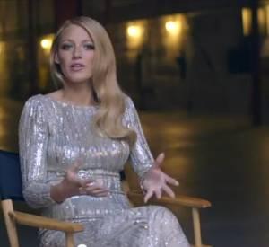 Blake Lively se confie en coulisses du film pour le parfum Gucci Premiere.