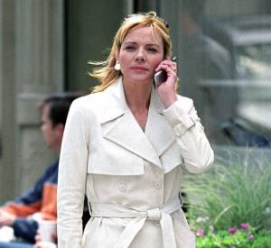 Kim Cattrall ose un modèle blanc dans Sex and the City.