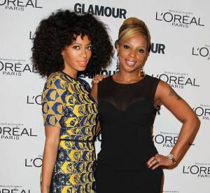 Solange Knowles et Mary J. Blige.
