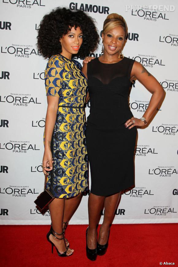 Solange Knowles et Mary J. Blige.
