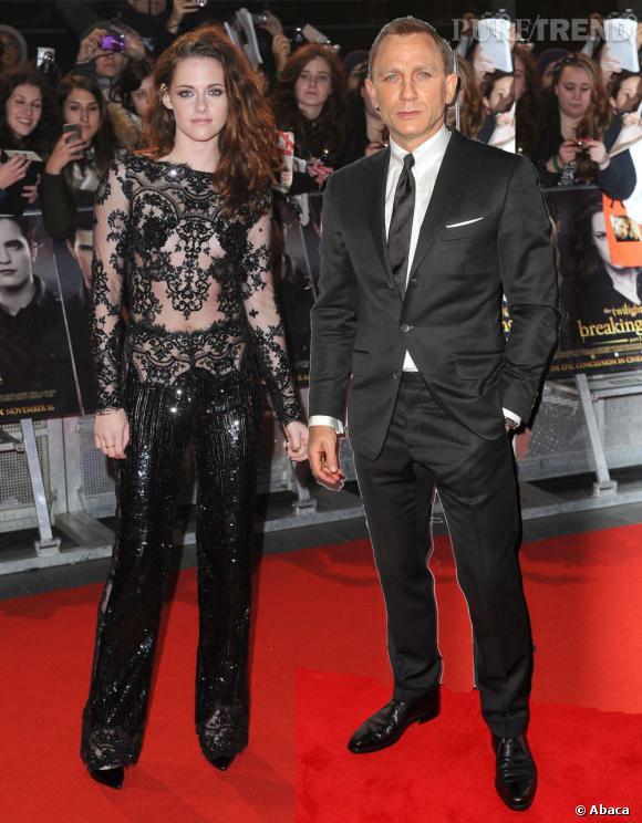 Kristen Stewart et Daniel Craig seront-ils un jour ensemble sur le tapis rouge ?