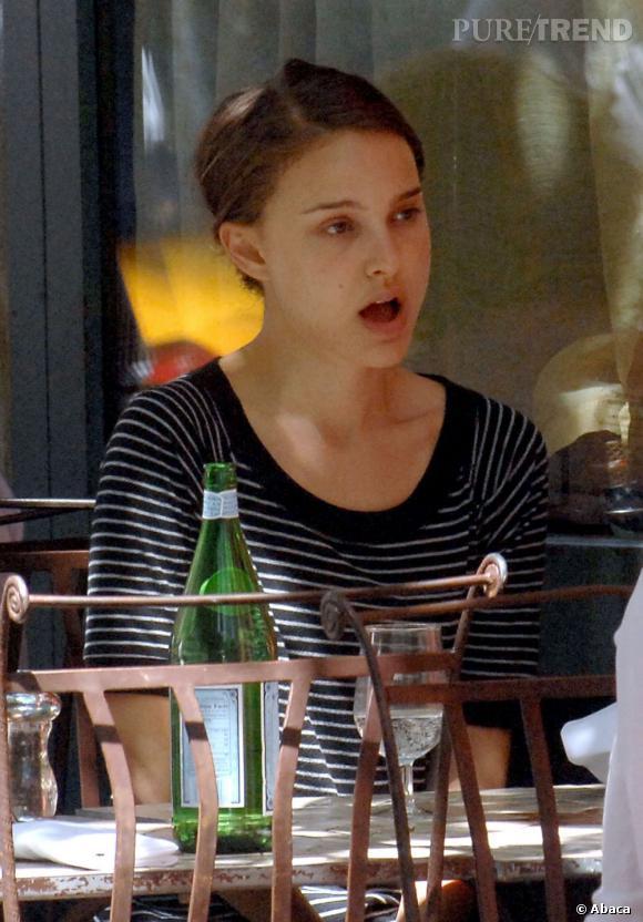 Natalie Portman, végétarienne, fait l'impasse sur la dinde.