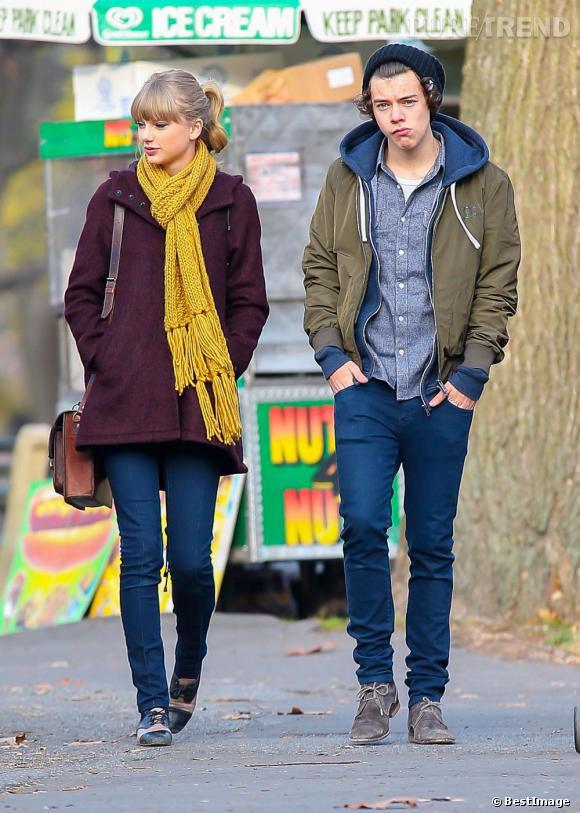 Taylor Swift à Central Park avec Harry Styles.