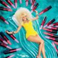 Nicki Minaj et M.A.C lance la tendance de la bouche lavande pour leur nouvelle collaboration.