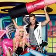 La précédente collaboration Nicki Minaj et M.A.C avec Ricky Martin.
