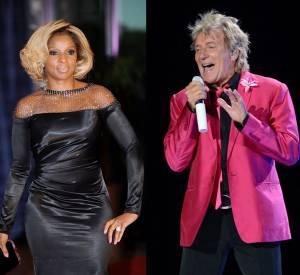Pour son album spécial Noël, le rockeur Rod Stewart fait un duo avec Mary J.Blige.