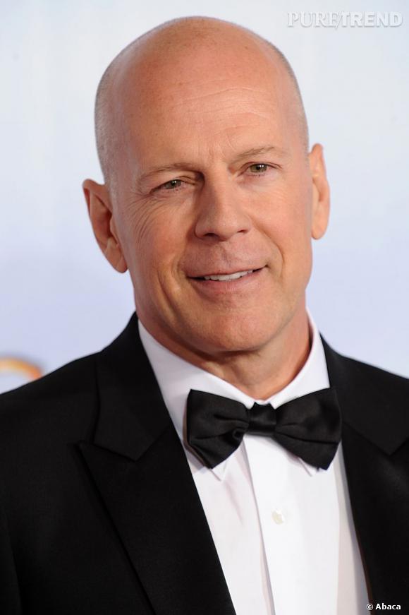 Bruce Willis, l'un des plus beaux ambassadeurs du crâne rasé à Hollywood.