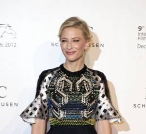 Cate Blanchett VS le podium : le peplum graphique Peter Pilotto