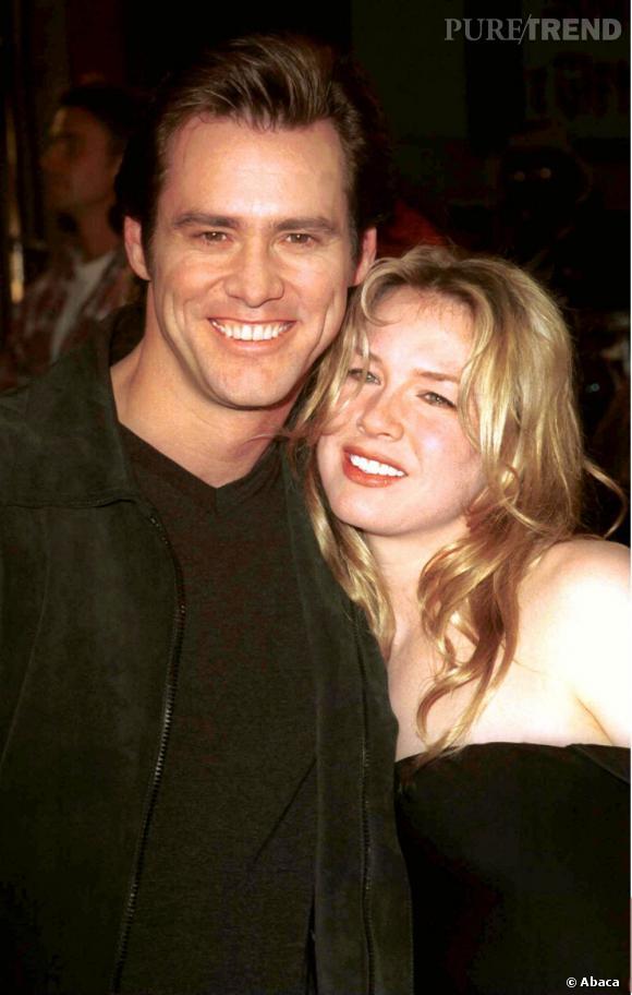 Renee Zellweger et Jim Carrey, le couple qui marque 1999 et 2000.
