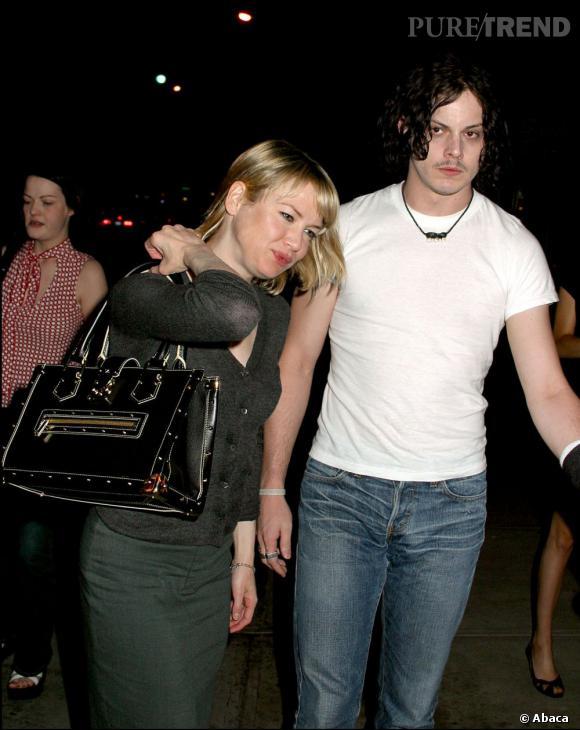 Renee Zellweger, en couple avec Jack White de 2003 à 2004.