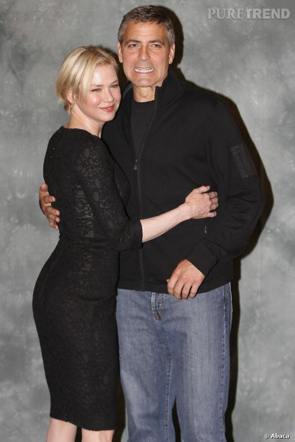 Renee Zellweger et George Clooney, ensemble en 2003.