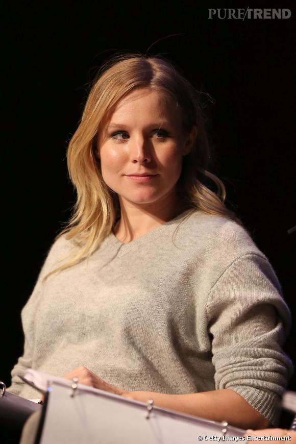 Kristen Bell reste très secrète sur sa grossesse et ne se montre pas trop en public.