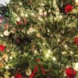 Pour Ewan McGregor, Noël c'est un beau sapin rouge et or.