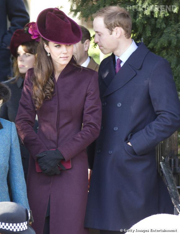 Kate Middleton et le Prince William passent les fêtes loin de la Reine.