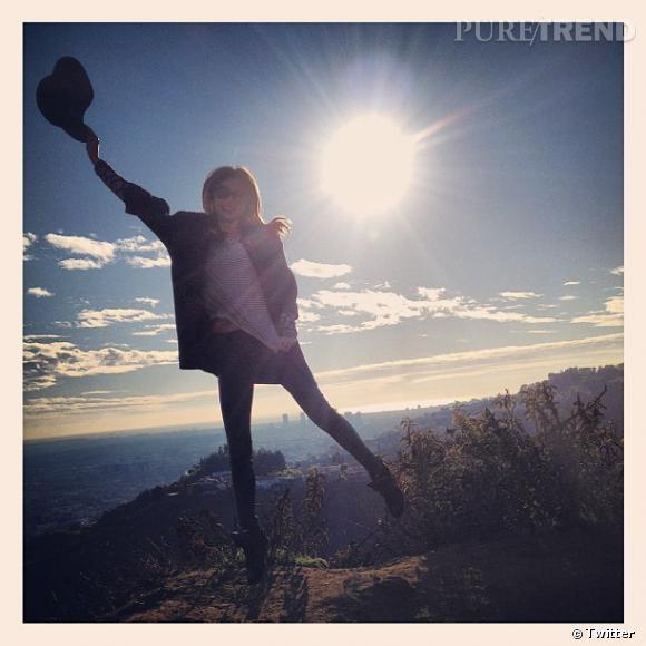 Miranda Kerr est très heureuse d'être en 2013.