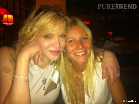 Gwyneth Paltrow passe le 31 avec Courtney Love.